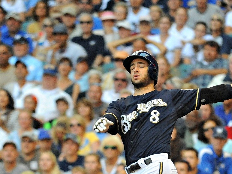 Ryan Braun and the Milwaukee Brewers have struggled the last two months.