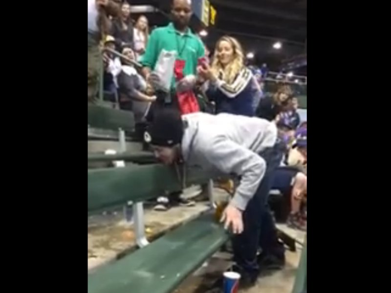 Brewers Fan Licks Vomit For 100 Sets Milwaukee Back 100000 Years