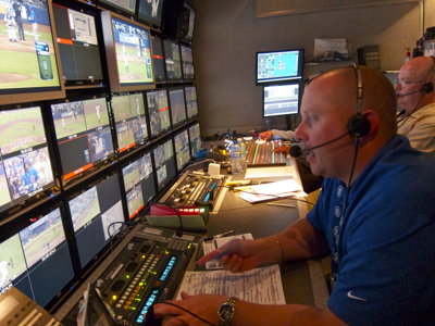 Shift Switch: Producer of a Brewers TV broadcast