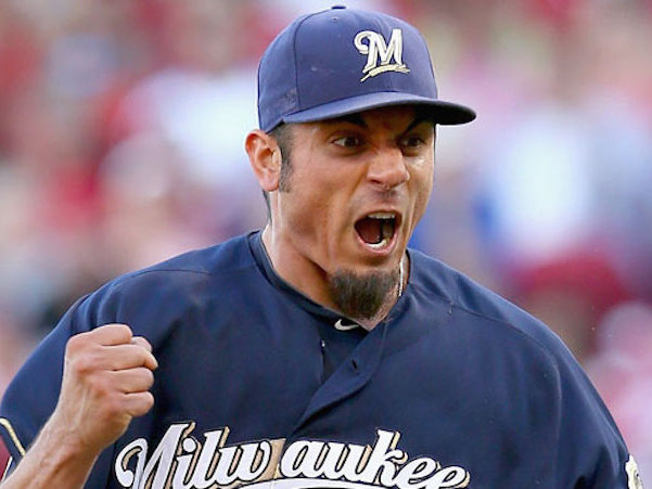 Leaving Matt Garza in the game raises questions about whether the Brewers gave up last night.