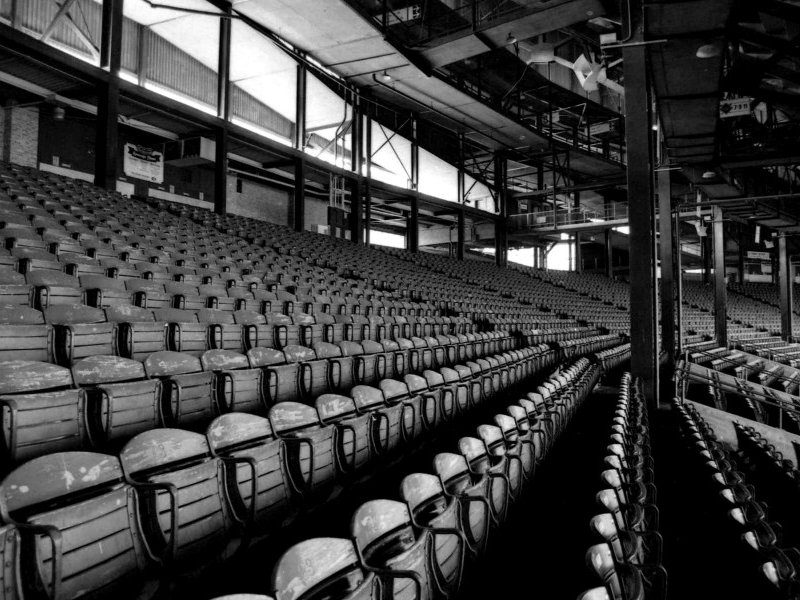 "David Bernacchi's photos of County Stadium are featured in ""Brick and Mortar Memories."""