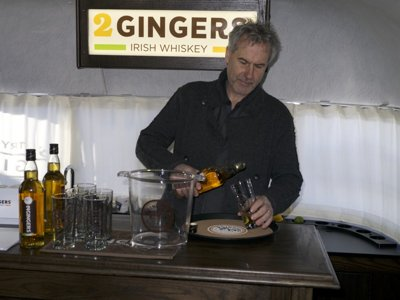 Irish whiskey founder travels country in Airstream