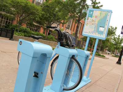 Bublr stations add maps Image