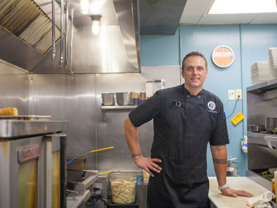 Schroeder adds flair to Buckley's menu