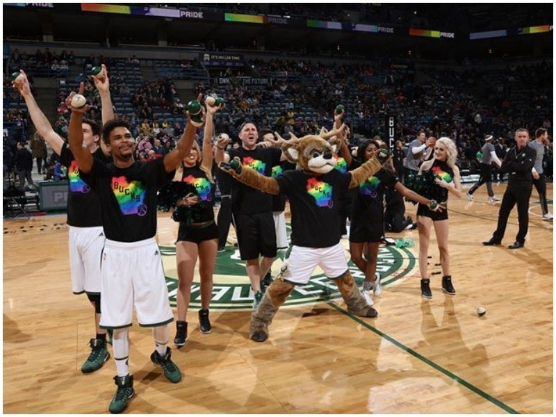 The Bucks  Pride Night will fall on Feb. 9 versus the Orlando Magic. f288510c1