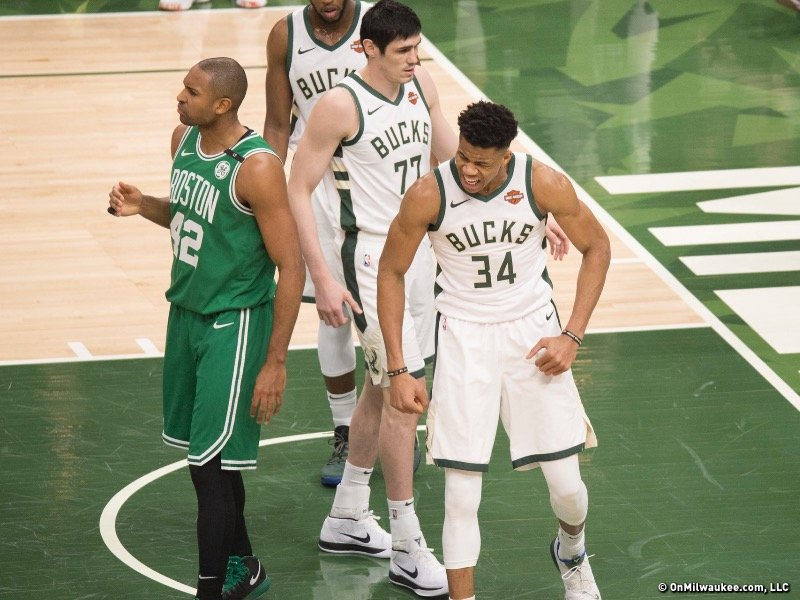 7e89e3e5ce84 Giannis and company closed the door on the Boston Celtics Wednesday night.