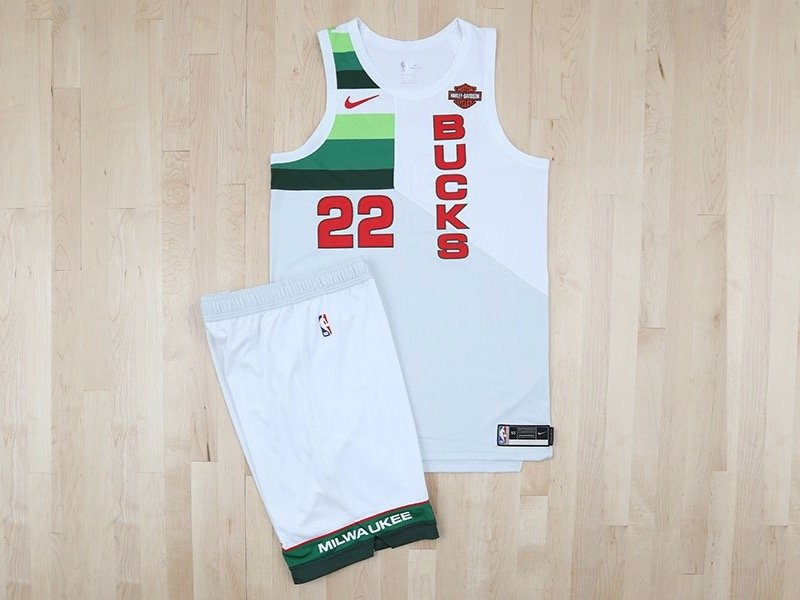 Another new Bucks alternate jersey was unveiled - and it looks ... 32c56d7ad
