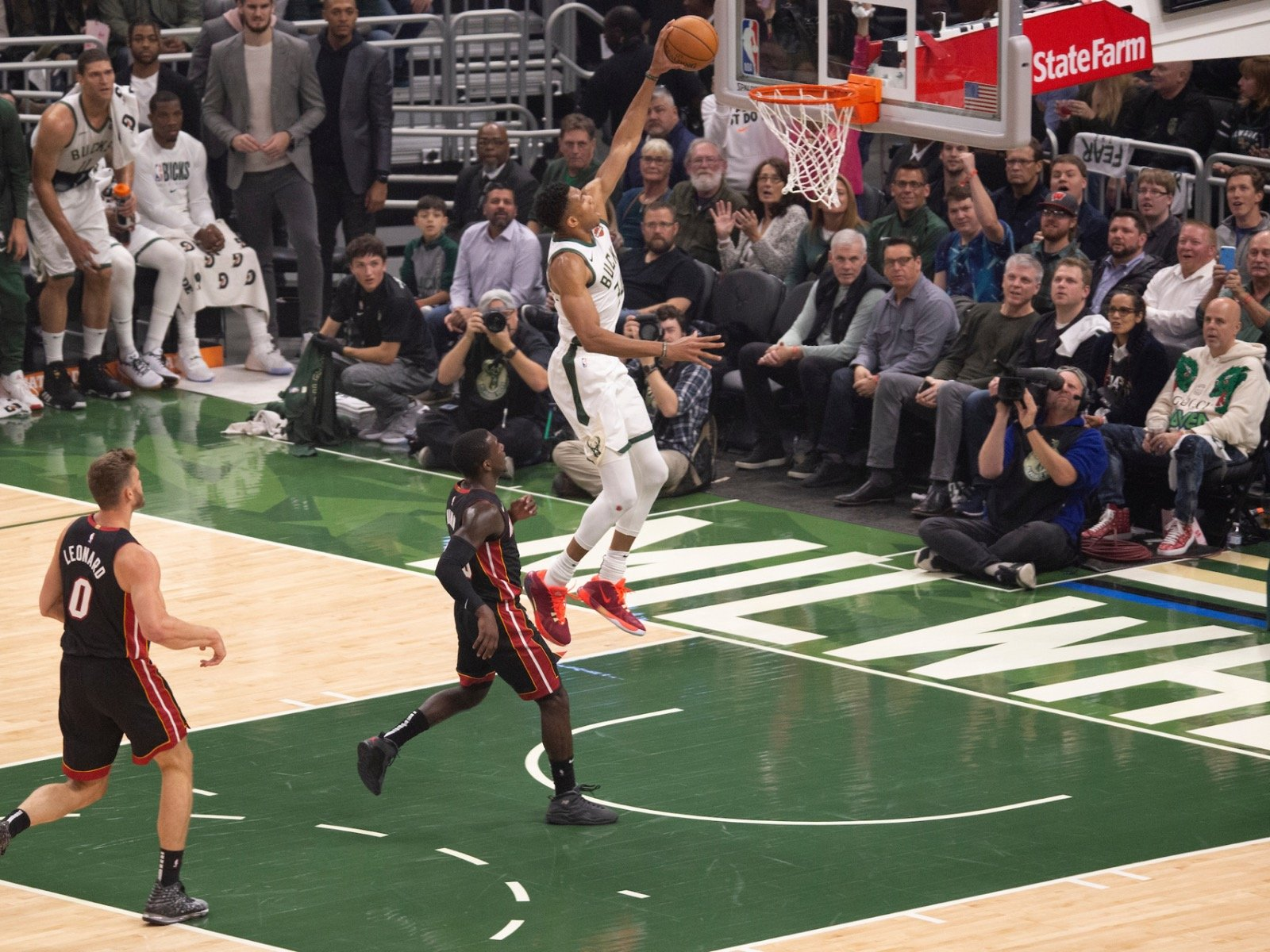 The Bucks 131 126 Home Opener Loss Against The Heat By The