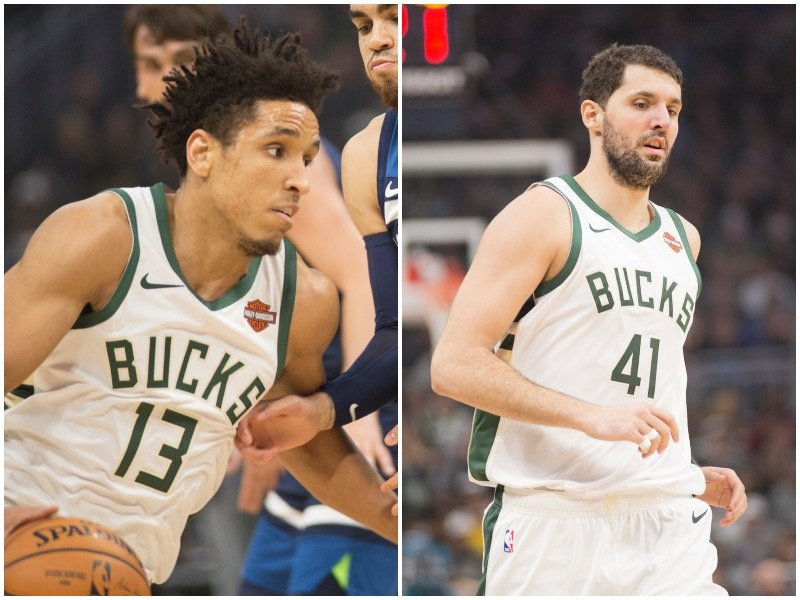 a43966afc Bucks  depth tested as Mirotic joins Brogdon on injury report - OnMilwaukee