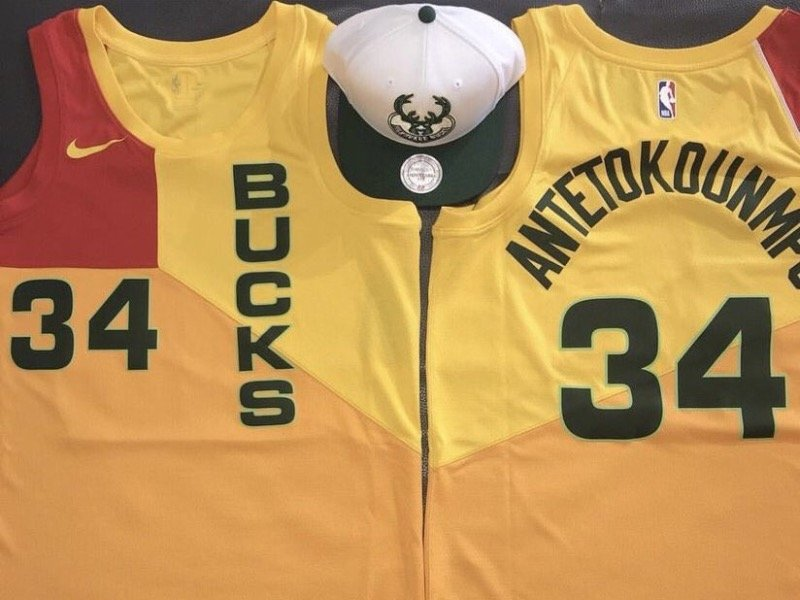 846ce5a7f These new leaked Bucks jerseys are