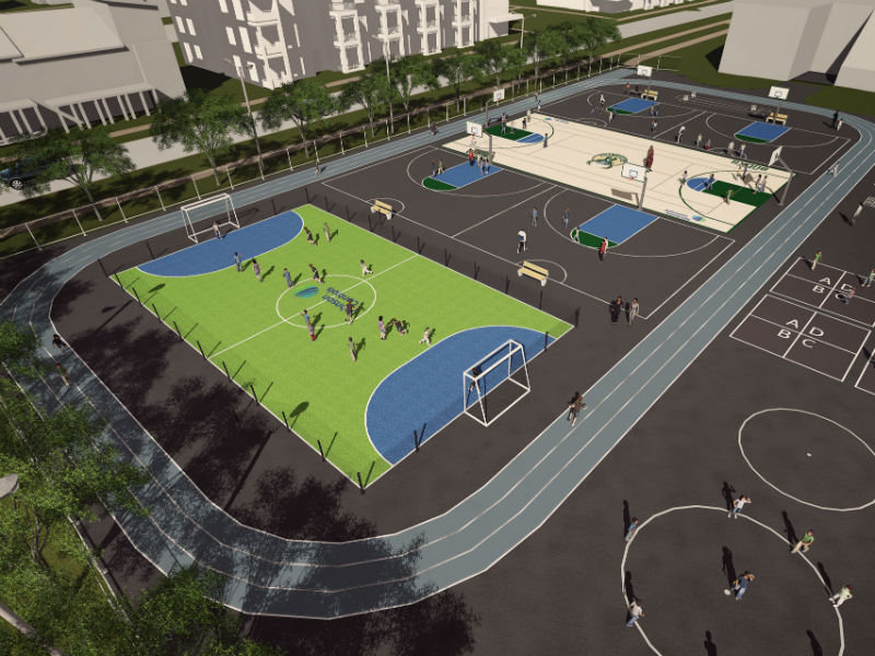 Bucks johnson controls to build multi sports complex in westlawn the 150000 multi sport complex malvernweather Gallery