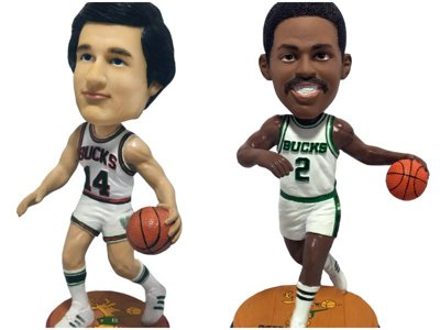 Bucks announce commemorative Legends of the Rafters Bobblehead Series