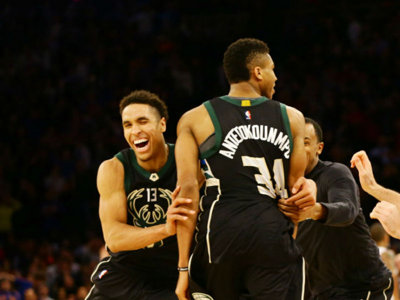 Brogdon and Antetokounmpo named to NBA All-Rookie, All-Defensive Teams