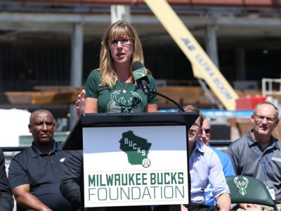 Milwaukee Talks: Bucks VP, Corporate Social Responsibility Alicia Dupies