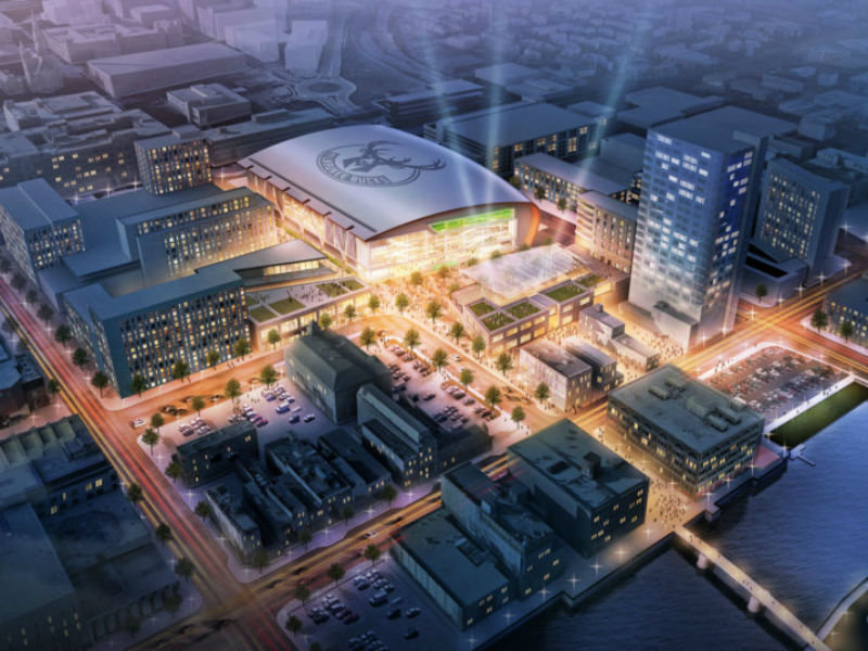 New Bucks arena will host NCAA Tournament games in 2022 ...