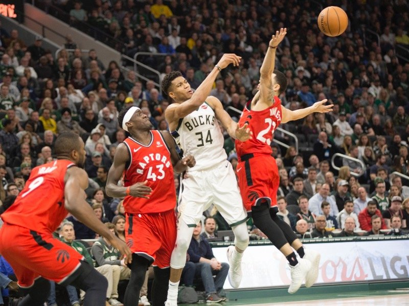 b034e5b32e7 Previewing the Bucks-Raptors Eastern Conference Finals showdown -  OnMilwaukee