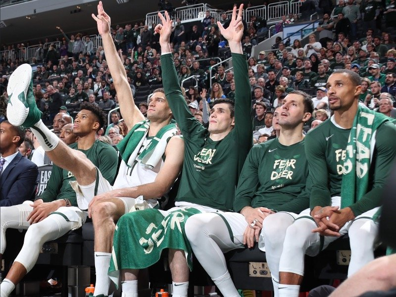 548947ef4d2 11 outstanding images from the Bucks' outstanding Game 2 win over ...
