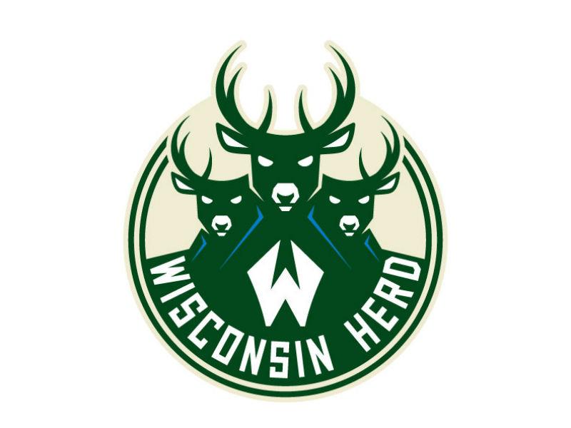 Behold the new Wisconsin Herd primary logo. (PHOTO  Milwaukee Bucks) b5781a7c0