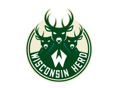 Mirroring Bucks' visual identity, Wisconsin Herd reveals new logos