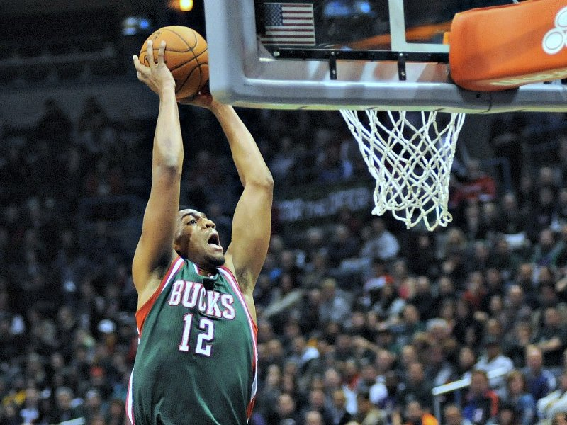 Rookie Jabari Parker recorded a double-double in his first home game.