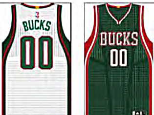 "The Milwaukee Bucks will have a ""different"" uniform this coming season - a gold championship tab."