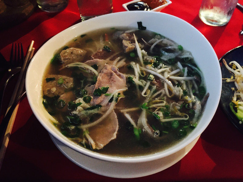 Authentic pho is a great treat at Buddha Lounge on North Avenue.