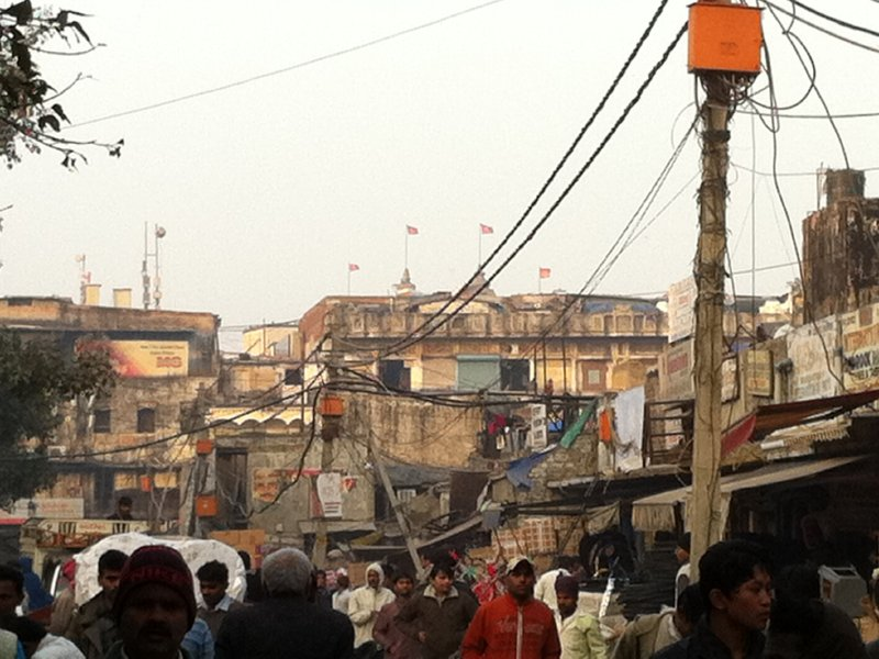 Chandi Chowk in Old Delhi: Complete chaos.