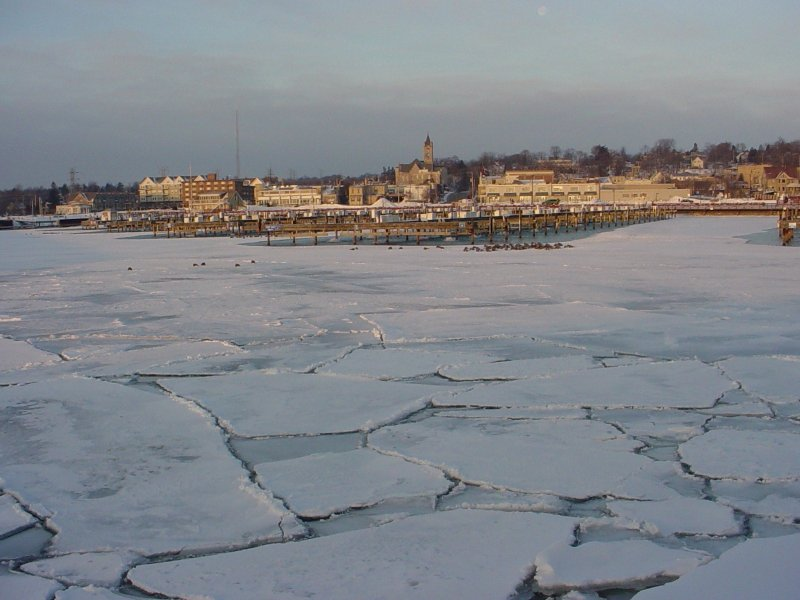 Lake Michigan may be frozen over at the marina in Port Washington, but there is still plenty to do and see in the quaint little town.