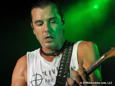 Lead singer and guitarist Gavin Rossdale set the tone early on for a high energy show, working the stage side to side.