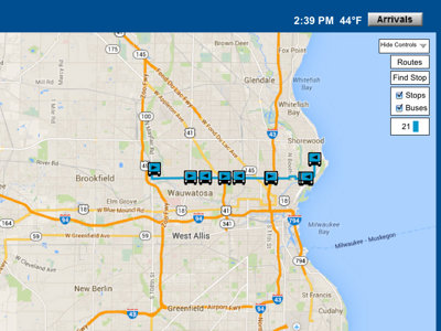 MCTS launches test of real-time bus tracking