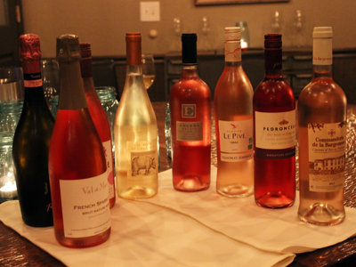 Drink pink: Ros� dinner challenges stereotypes