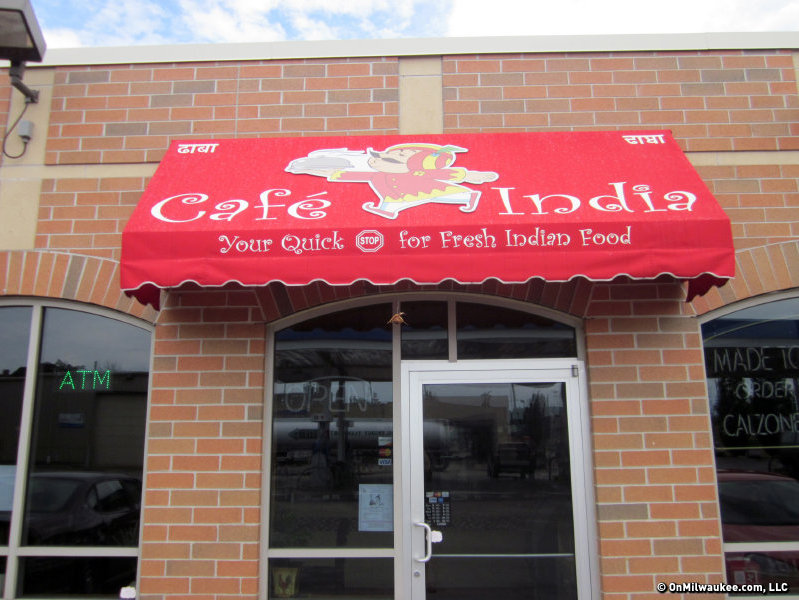 The first Cafe India is located at 605 S. 1st St.