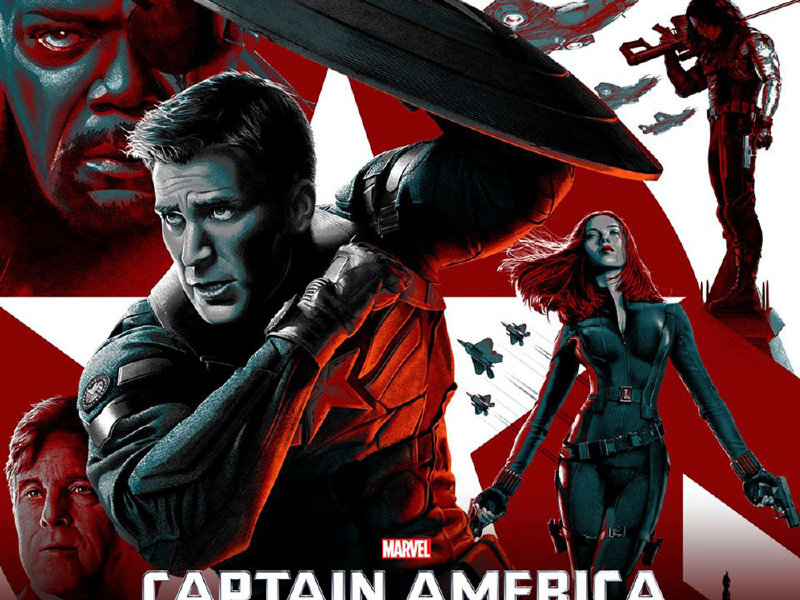 """Captain America: The Winter Soldier"" is available on combo pack, Blu-ray and DVD on Tuesday."