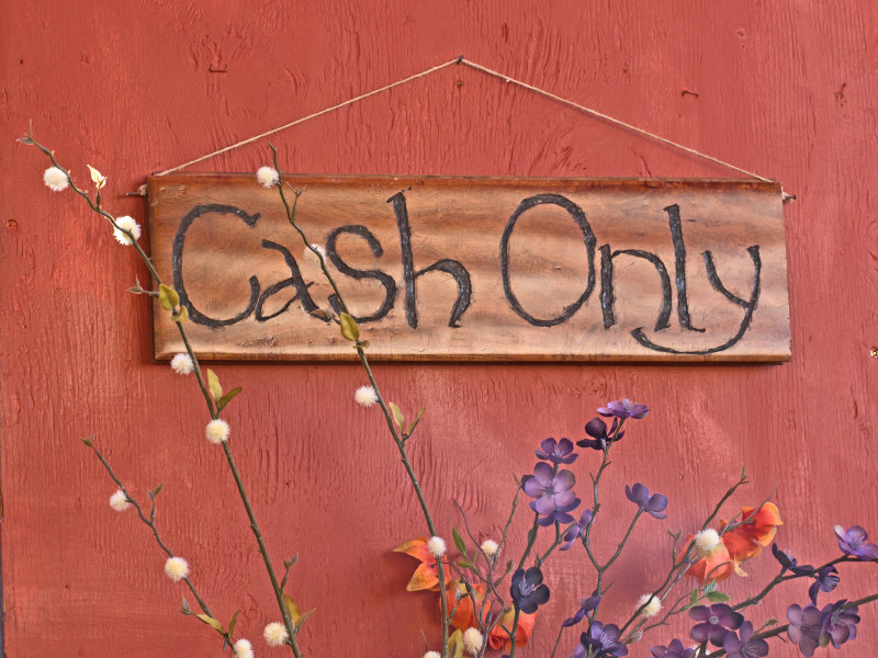 Cash really is king in these 6 places.