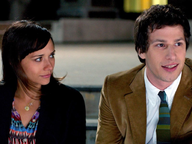 "Rashida Jones and Andy Samberg star in ""Celeste and Jesse Forever,"" in theaters now."