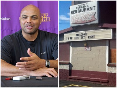 Charles Barkley dishes a soul food shoutout to Perkins (no, not that Perkins)