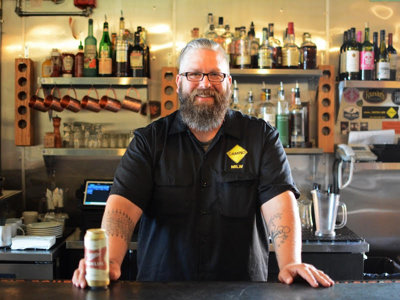 Featured bartender: Charlie Chaparas from Camino