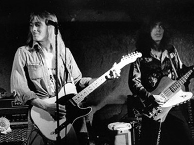 Zander at Tom Petersson at Hanna 39s circa 1974