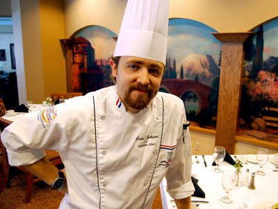 Featured chef: Justin Johnson of Harwood Place