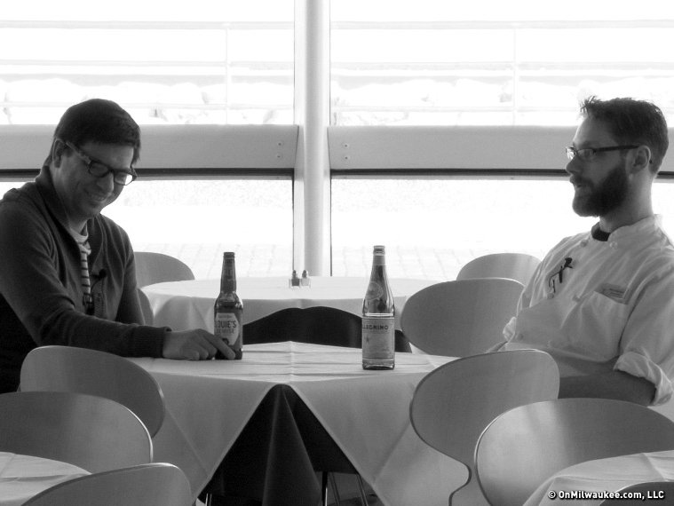 Wisconsin Foodie's Kyle Cherek talks art and cuisine with Cafe Calatrava's Micah Kaufman.