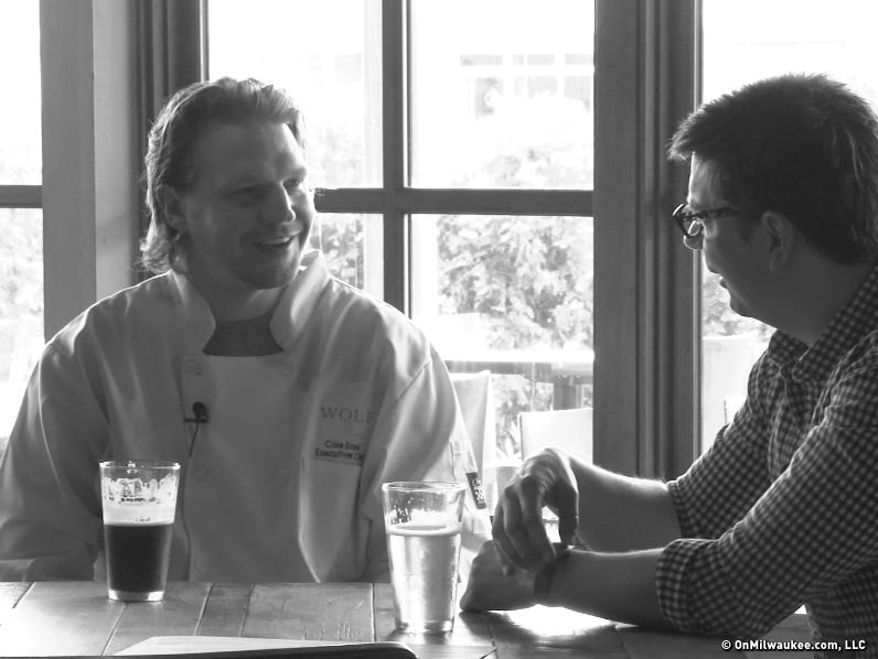 Wolf Peach's Cole Ersel talks to Kyle Cherek in this latest installment of Chef Talk.