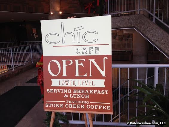 Chic Cafe is open from 7 a.m. to 3 p.m. weekdays.