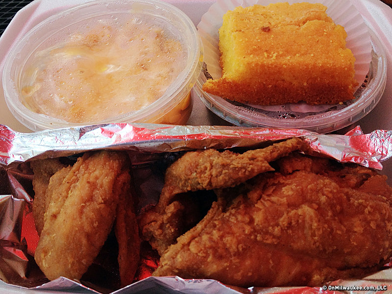 Take The Milwaukee Challenge Champion Vs Gold Rush Fried Chicken