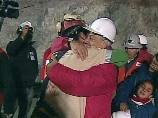 The rescue of Chilean miners made for gripping TV drama.