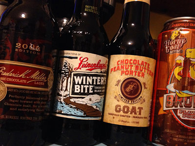 Chocolate craft brews