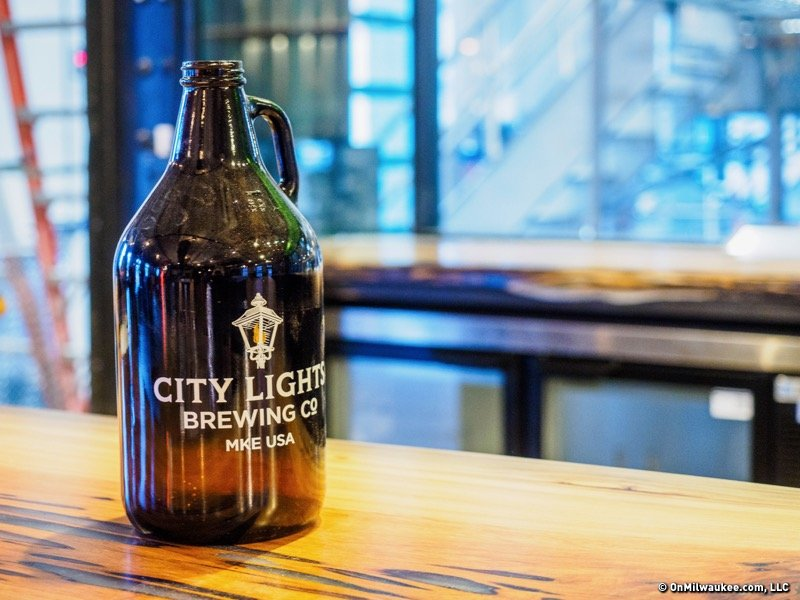 City lights brewing co opens to the public this week onmilwaukee four newly brewed taps await you at city lights brewing co aloadofball Image collections