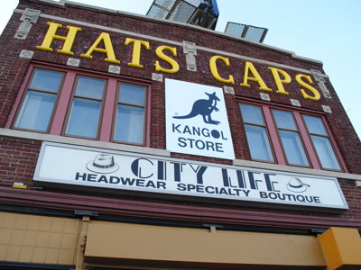 City Life Boutique offers hats, caps and more