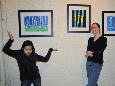 Fifth grader gets Third Ward art show