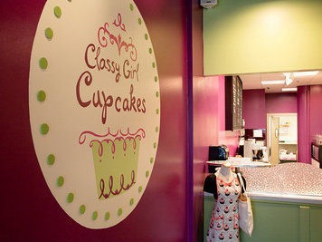 Classy Girl Cupcakes opened in November (photo: Matt Fornear).