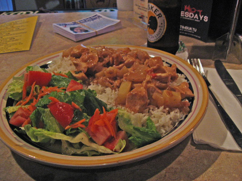 Club Timbuktu Co Owner Youssouf Komara Serves Heaping Portions Of Traditional Peanut Stew